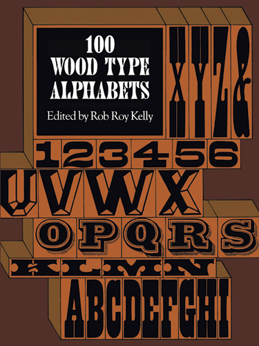 100 Wood Type Alphabets