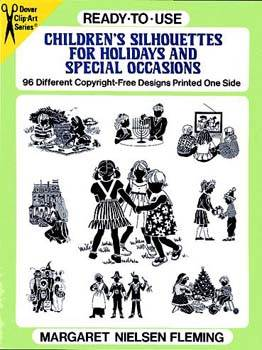 Ready-to-Use Childrens Silhouettes for Holidays and Special Occasions
