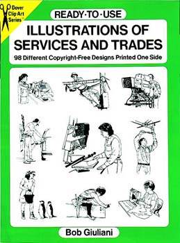 Ready To Use Illustrations of Services and Trades