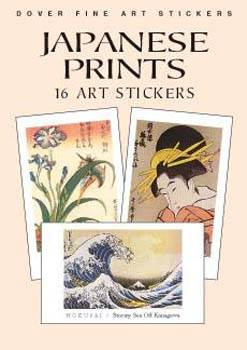 Japanese Prints: 16 Art Stickers