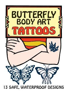 Butterfly Body Art Tattoos