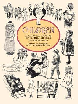Children, A Pictorial Archive of Permission-Free Illustrations