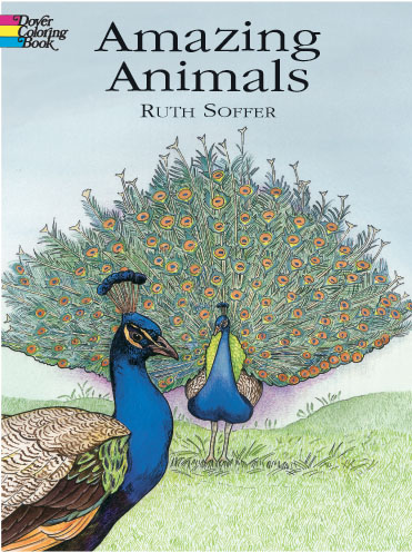 Amazing Animals Coloring Book