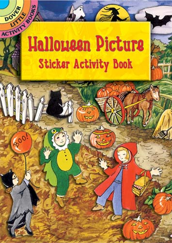 Halloween Picture Sticker Activity Book