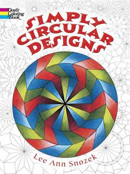 Simply Circular Designs Colouring Book