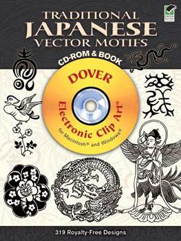 Traditional Japanese Vector Motifs CD-ROM and Book