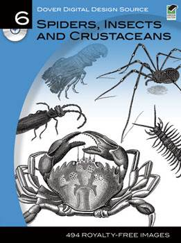 Dover Digital Design Source #6: Spiders, Insects and Crustaceans