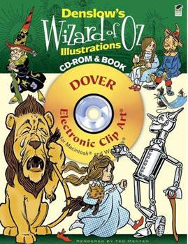 Denslows Wizard of Oz Illustrations CD-ROM and Book