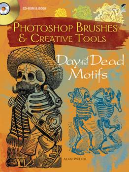 Photoshop Brushes & Creative Tools: Day of the Dead Motifs