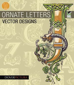 Ornate Letters Vector Designs