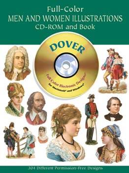 Full Colour Men and Women Illustrations CD ROM and Book