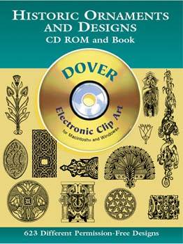 Historic Ornaments and Designs CD-ROM and Book