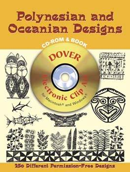 Polynesian and South Pacific Designs CD-ROM and Book