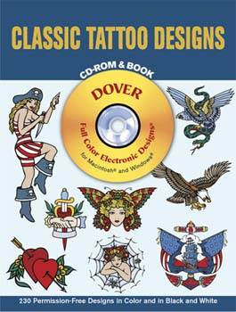 Classic Tattoo Designs CD-ROM and Book