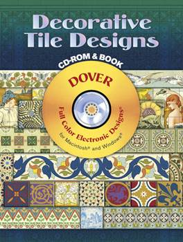 Decorative Tile Designs CD-ROM and Book