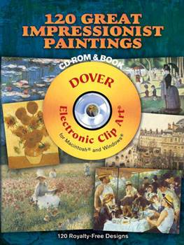 120 Great Impressionist Paintings CD-ROM and Book