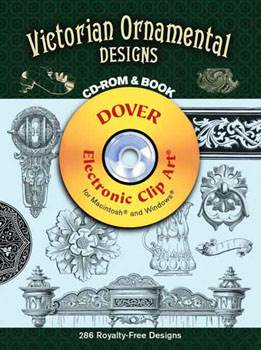 Victorian Ornamental Designs CD ROM and Book