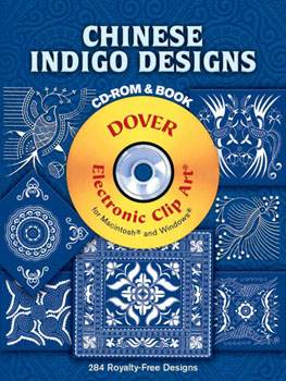 Chinese Indigo Designs CD ROM and Book