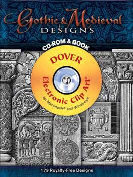 Gothic and Medieval Designs CD ROM and Book