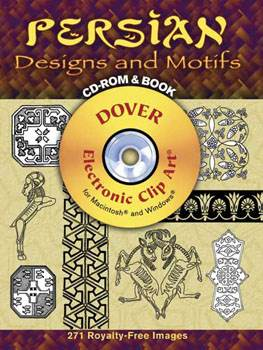 Persian Designs and Motifs CD-ROM and Book