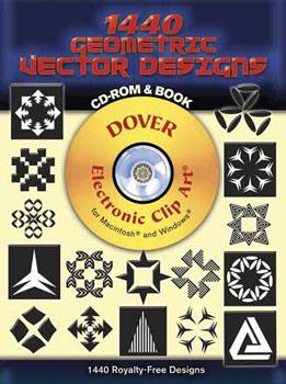 1440 Geometric Vector Designs CD-ROM and Book