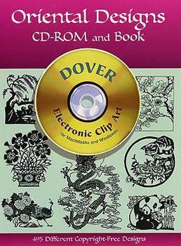 Oriental Designs CD-ROM and Book