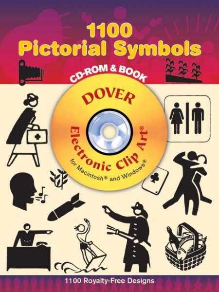 1100 Pictorial Symbols CD ROM and Book