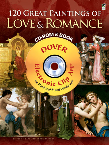 120 Great Paintings of Love and Romance CD ROM and Book