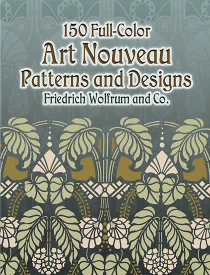 150 Full Colour Art Nouveau Patterns