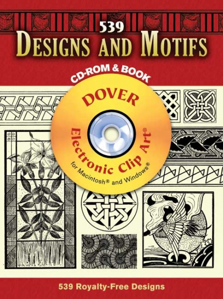 539 Designs and Motifs CD ROM and Book
