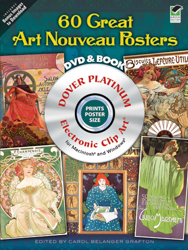 60 Great Art Nouveau Posters Platinum DVD and Book