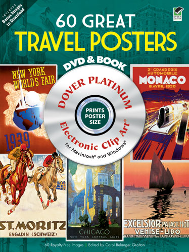 60 Great Travel Posters Platinum DVD and Book