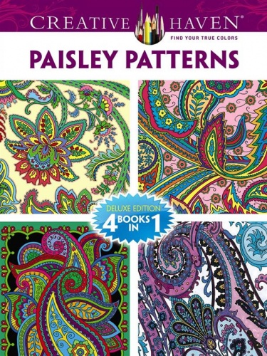 Creative Haven PAISLEY PATTERNS Coloring Book