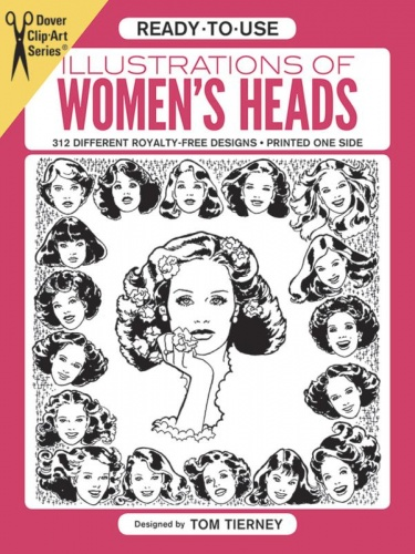 Ready To Use Illustrations of Womens Heads