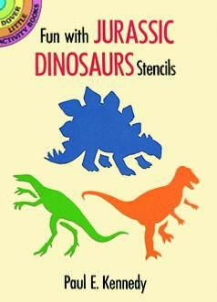 Fun with Jurassic Dinosaurs Stencils