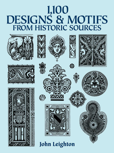 1,100 Designs and Motifs from Historical Sources