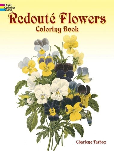 RedoutŽ Flowers Coloring Book