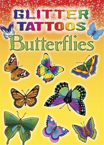 Glitter Tattoos : Butterflies