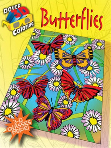 Butterflies - Dover 3D Coloring Book