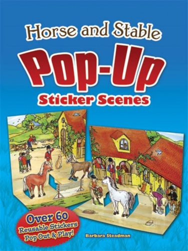 Horse and Stable Pop-Up Sticker Scenes