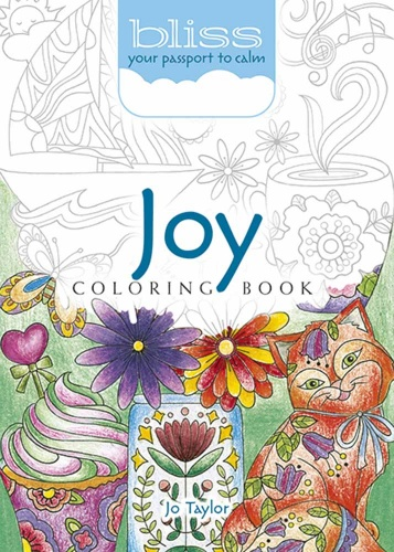 BLISS Joy Coloring Book