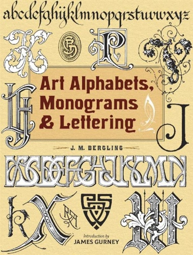 Art Alphabets, Monograms & Lettering