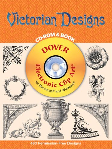 Victorian Designs CD Rom and Book