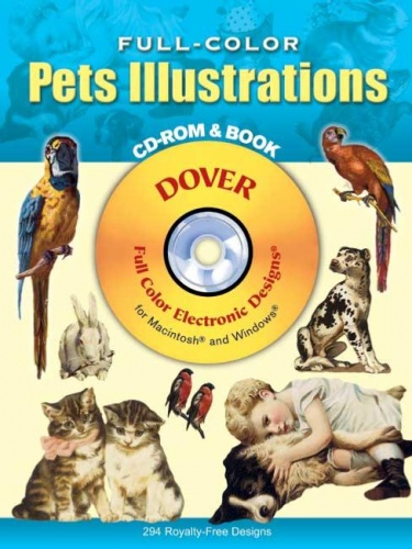 Full Colour Pets Illustrations Cd Rom And Book