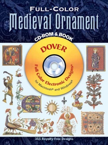 Full Colour Medieval Ornament CD-Rom And Book