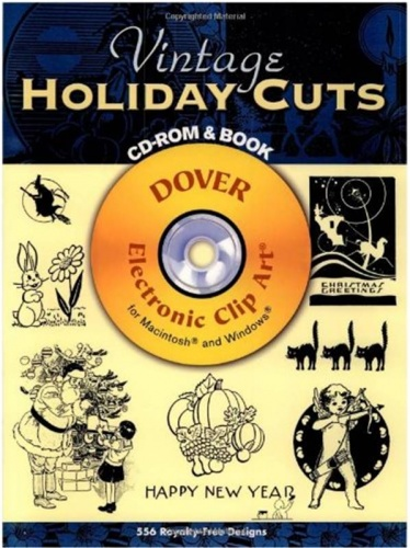 Vintage Holiday Cuts CD-Rom & Book