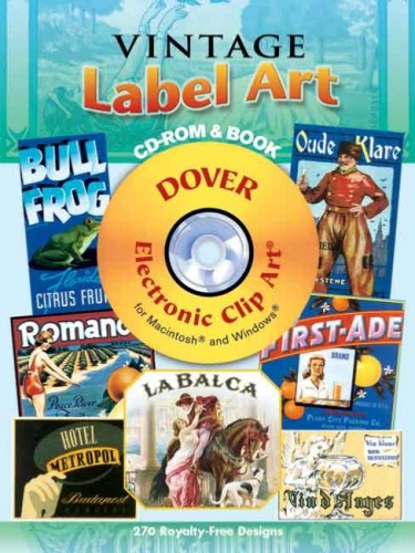 Vintage Label Art CD ROM and Book