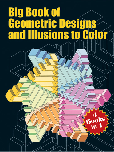 Big Book of Geometric Designs And Illustrations to Colour