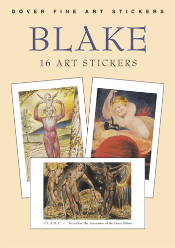 Blake: 16 Art Stickers