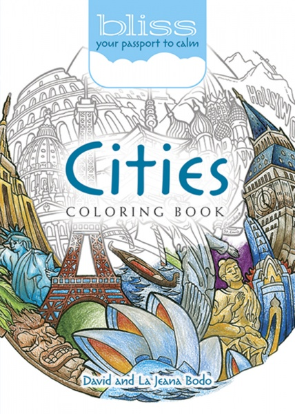 BLISS Cities Coloring Book